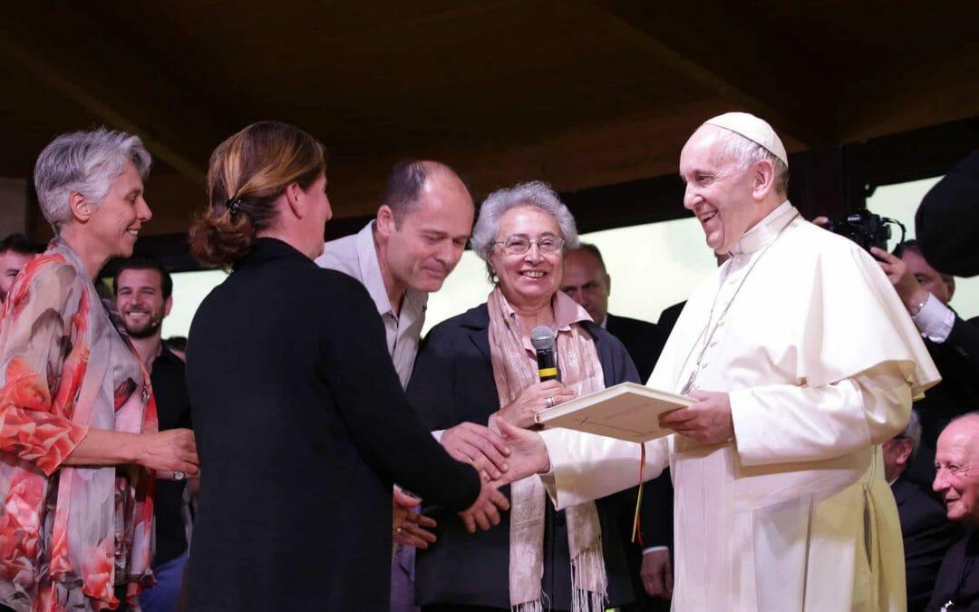 Un anno fa è venuto papa Francesco a Nomadelfia